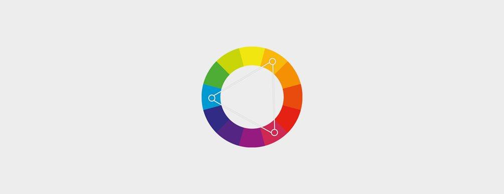 f7662cf0 En fargepalett hjelper deg å velge og bruke farger som utfyller hverandre.  Fargesirkelen nedenfor er basert på primærfargene (gul, rød og blå), ...
