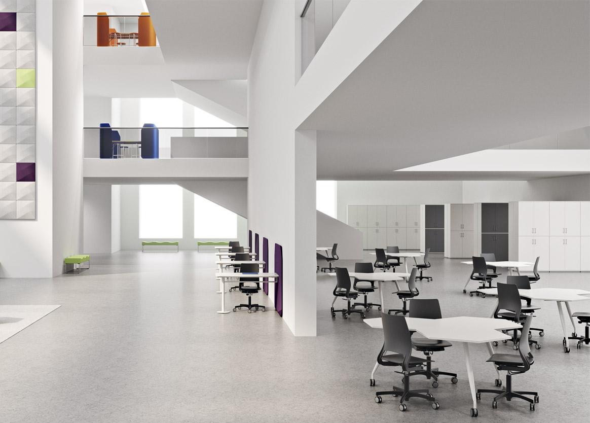 Møbler til undervisning Unike innredninger Skolemøbler